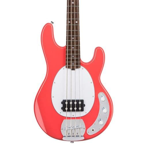 Sterling by Music Man SUB Ray4 FIESTA RED Bass guitar - RW - RAY4FRDR1